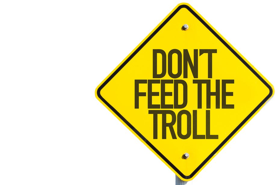 Imagen-Don´t feed the troll