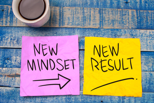 new mindset a new result